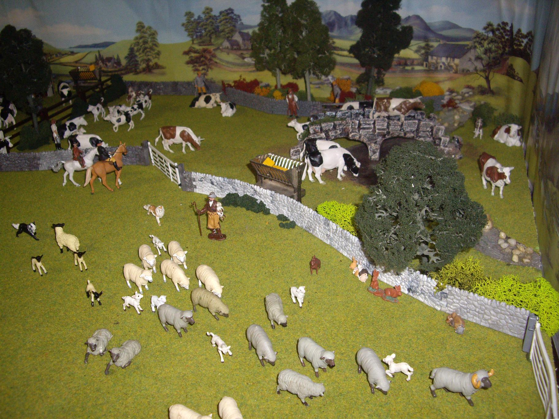 Britains Herald Farm Dioramas Heather